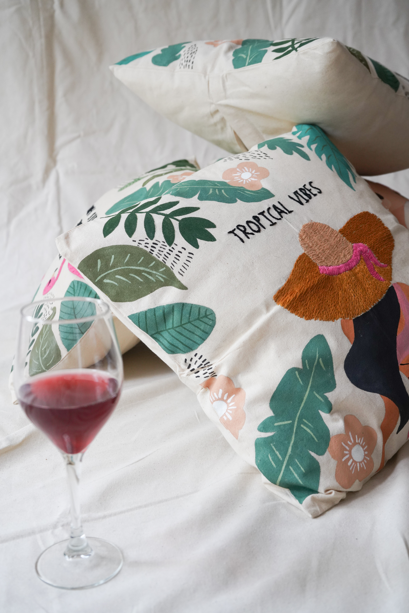 Cushion Cover Tropical Vibes